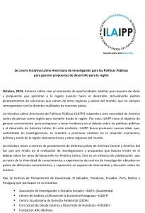 Comunicado ILAIPP