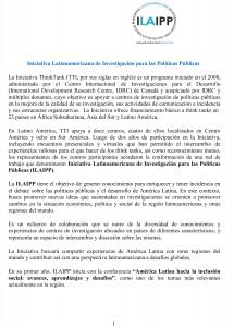 Información ILAIPP