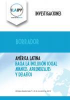 "ILAIPP Primer Conferencia Regional """