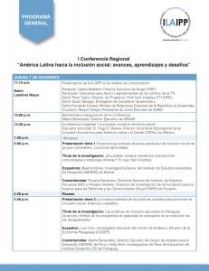 Programa General ILAIPP