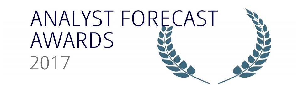 Analyst Forecast Awards 2017