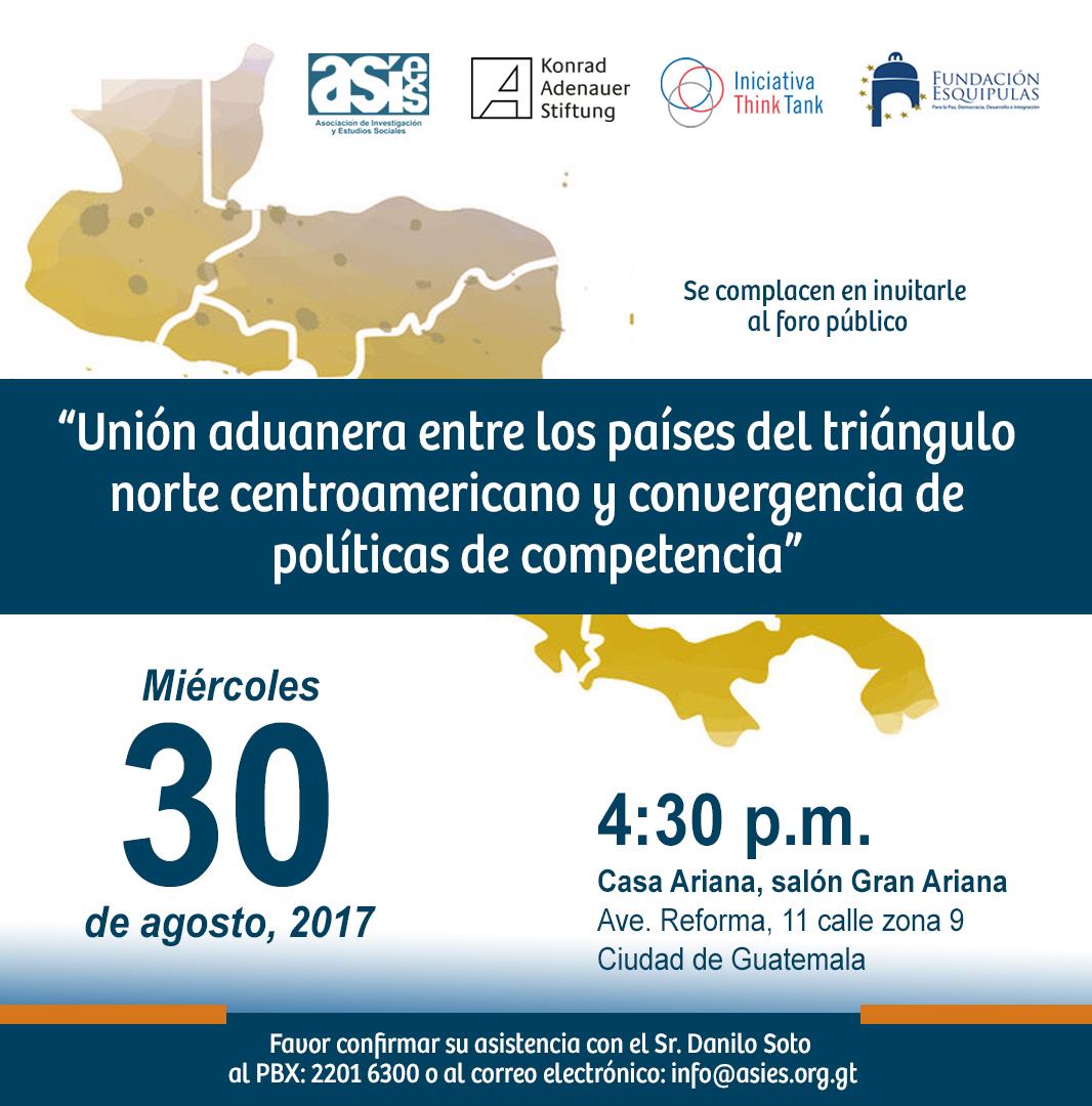 Invitación Unión Aduanera